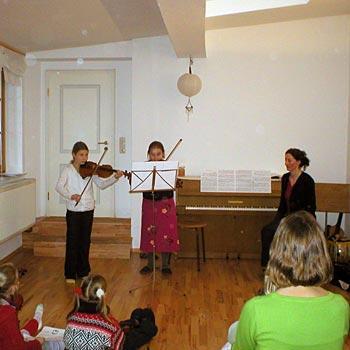 Artetonal Instrumentenunterricht